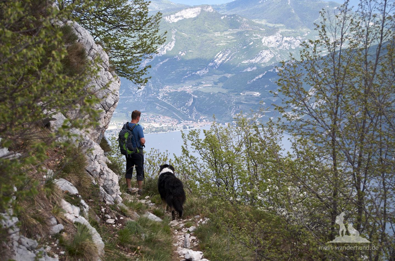 Wandern mit Hund Gardasee: Cima della Nara