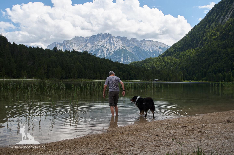 Schnell ist der Ferchensee erreicht.