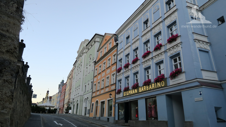 Burghauser Altstadt.