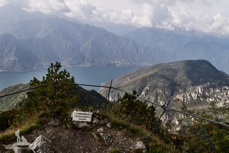 Blicke vom Monte Stino...