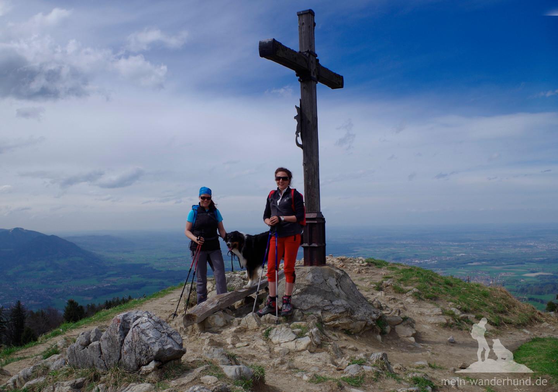 Obligatorisches Gipfelfoto und ...