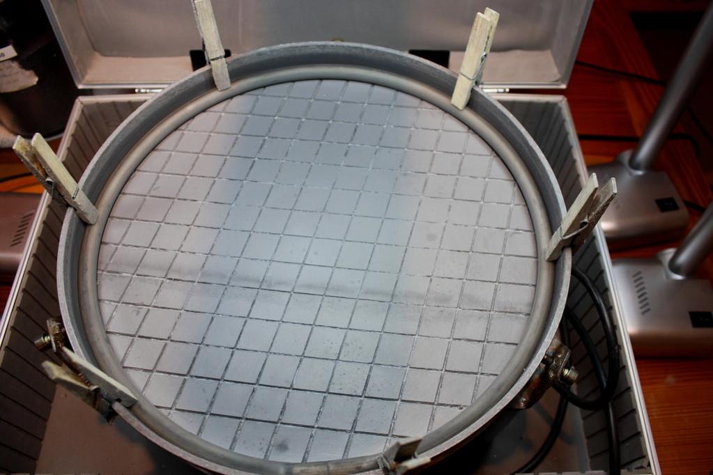Typ VI - 30 / Gut gereinigter Teller des Flachschleifers