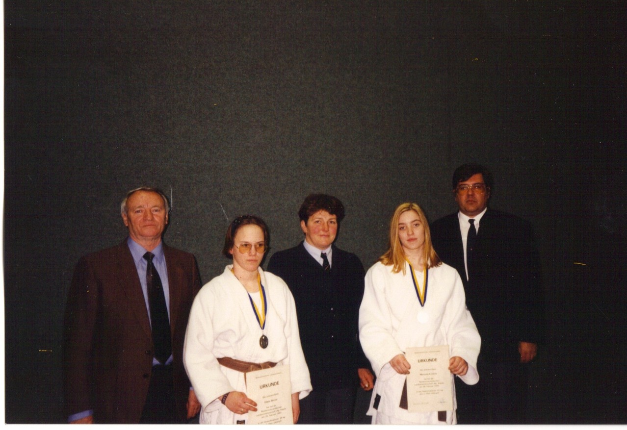 1993 Stadtrat Eder, Diana Berner, Evelyn Winklbauer, Manuela Kodale, Peter Wolschann