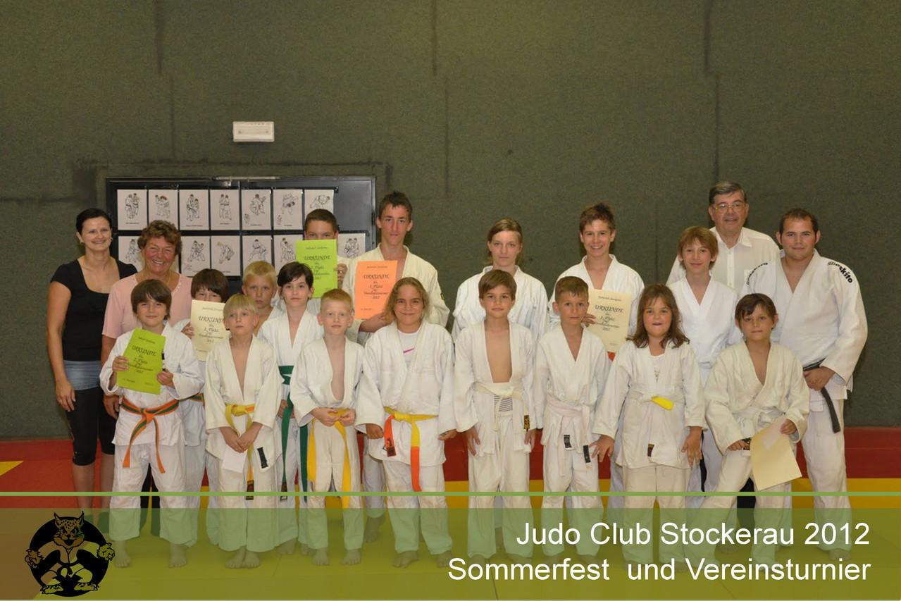 Vereinsturnier Judo Stockerau