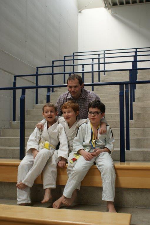 Markus, Jonas, Max und Noah