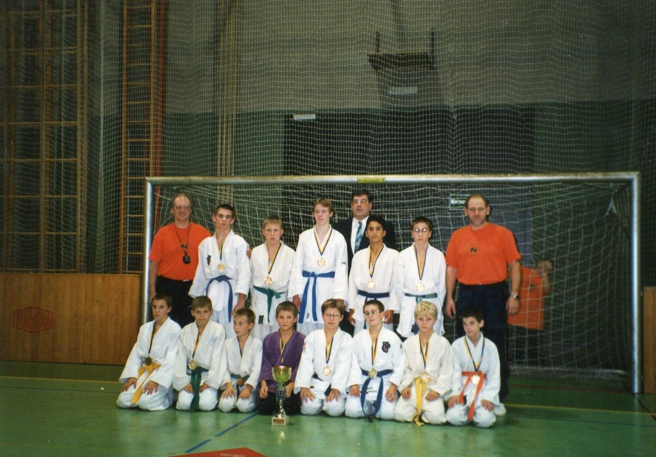 1997 Mannschaftsmeister - Wettkampfgemeinschaft JC Stockerau - JC Stadt des Kindes