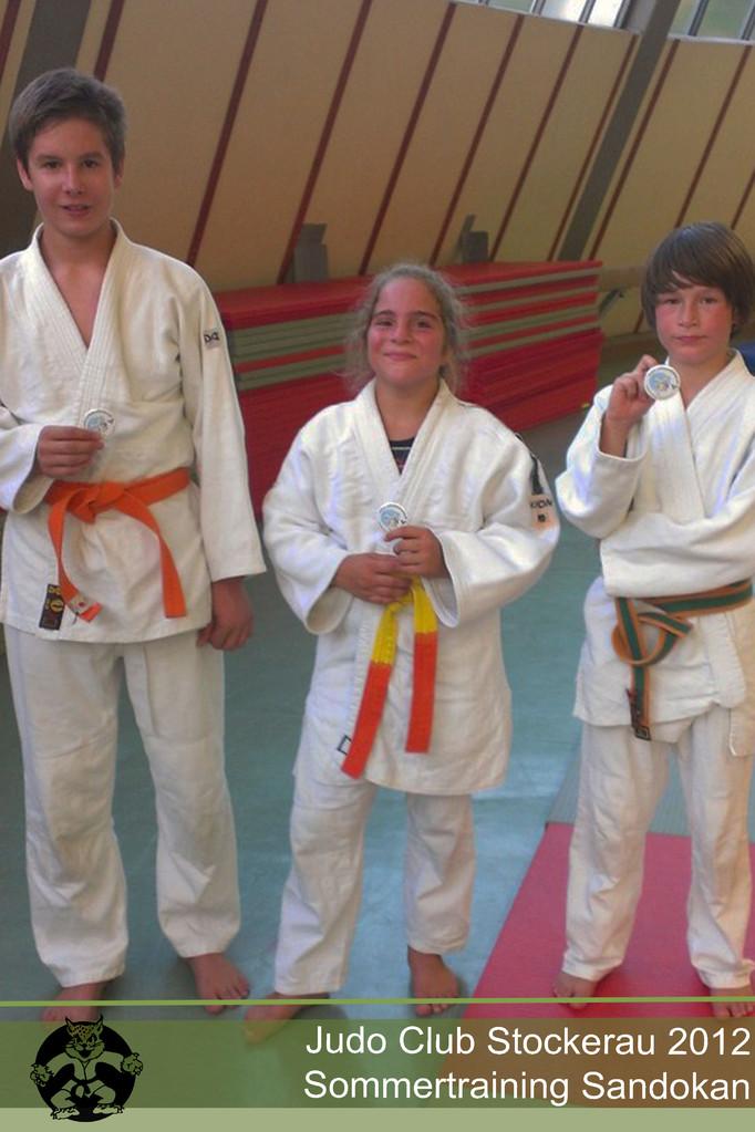 Sondertraining bei Sandokan Judo Stockerau