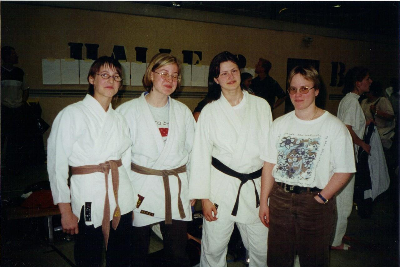 Daniela Weitzer, Stefanie Stummer, Monika Moormann, Niederösterreichische Landestrainerin Diana Berner