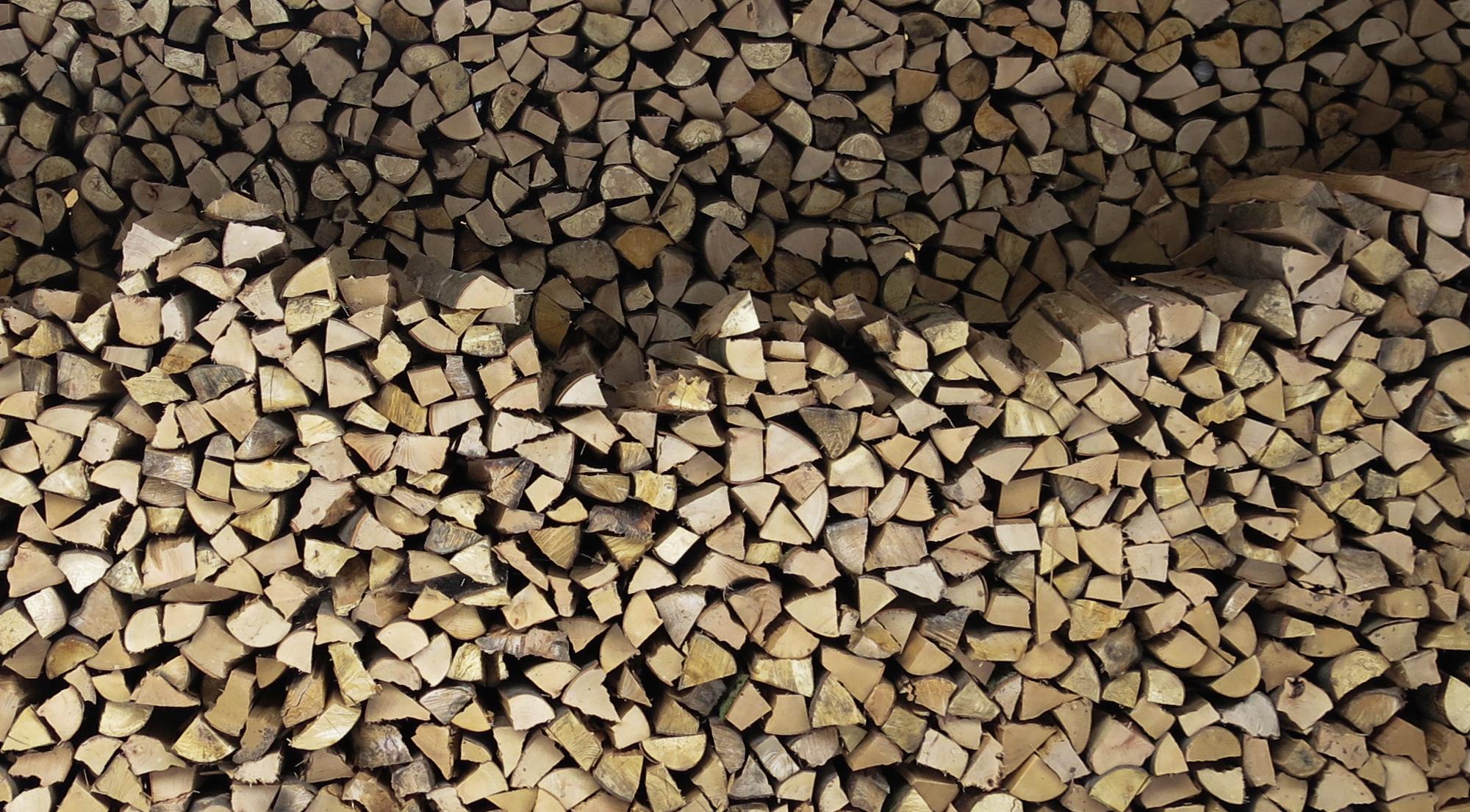 14. nehmen Sie trockenes (2jähriges) Buchenholz