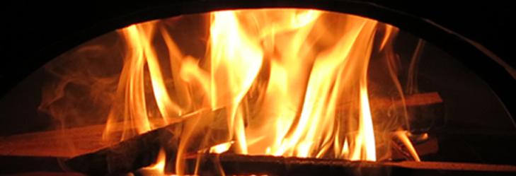 je nach Grösse des Ofens 1.5 bis 2.5 Stunden einfeuern