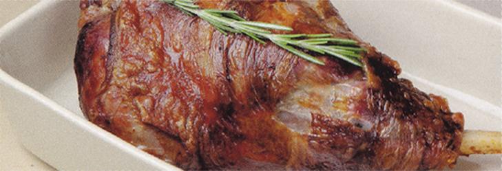 Braten, grosse Fleischstücke und Eintöpfe schmoren