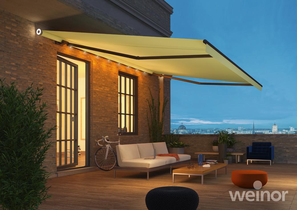 gelenkarm markisen paquet wintergarten. Black Bedroom Furniture Sets. Home Design Ideas