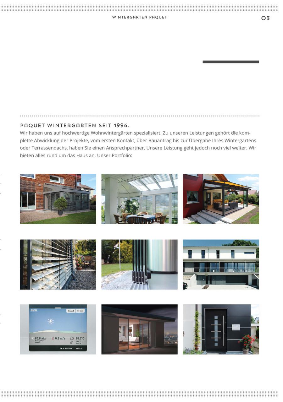 Wintergarten Paquet Broschüre S.3
