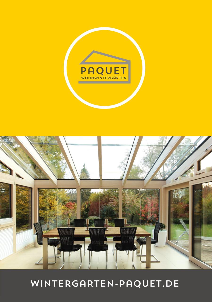 Wintergarten Paquet Broschüre Titel