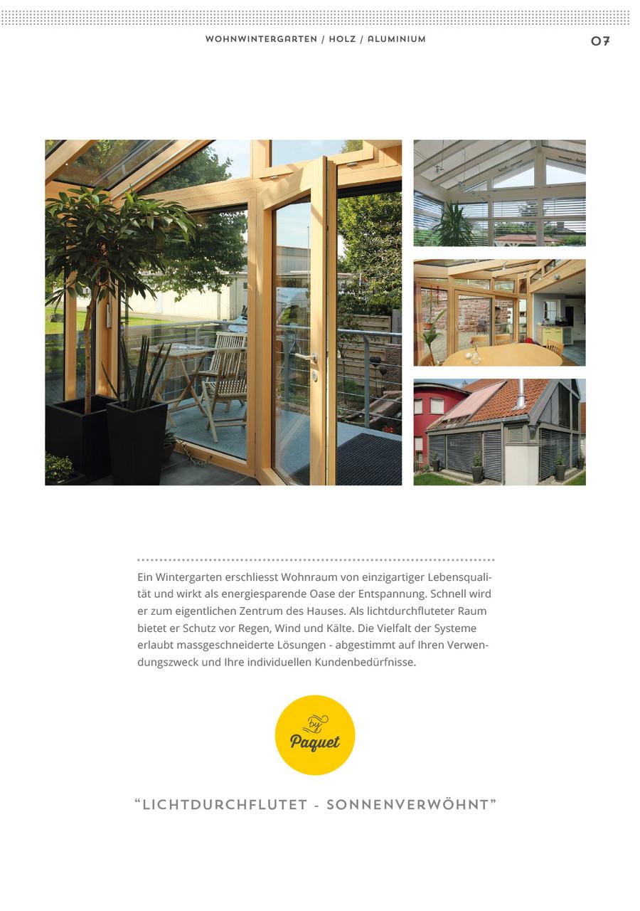 Wintergarten Paquet Broschüre S.7