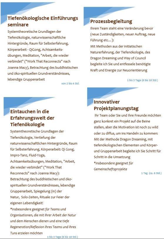 Bild: Abenteuer Wandel: Tiefenökologie und Transformationsgestaltung, Anna Deparnay-Grunenberg Naturbasierte Prozessbegleitung,
