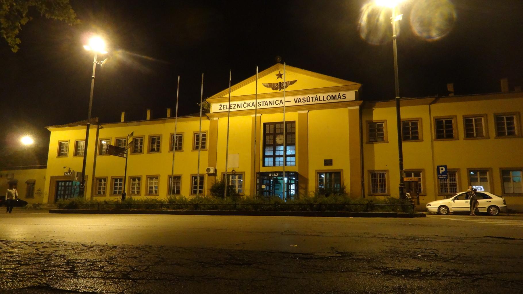 Railstation, Subotica,