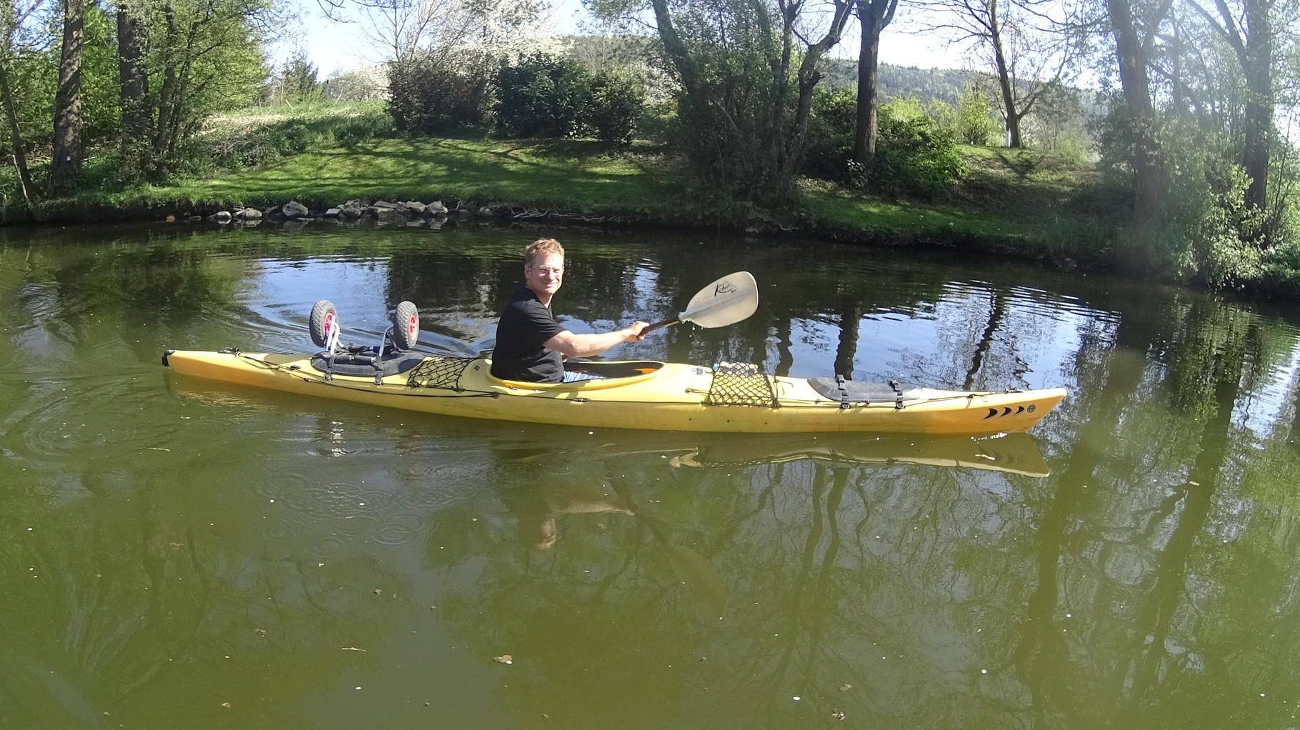 Helmut, my watertraffic-teacher