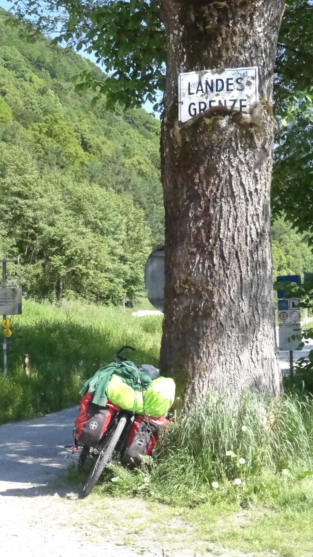 Dunav- tour, boarder Germany- Austria
