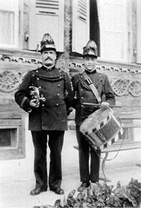 Vater Balmer Johann und Sohn Fritz in der ersten Uniform