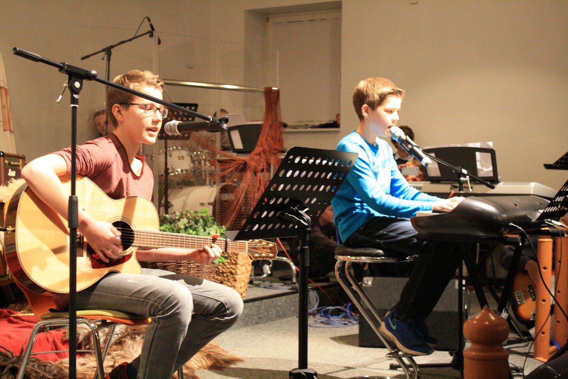 Vorprogramm der ConTakte Musikschüler