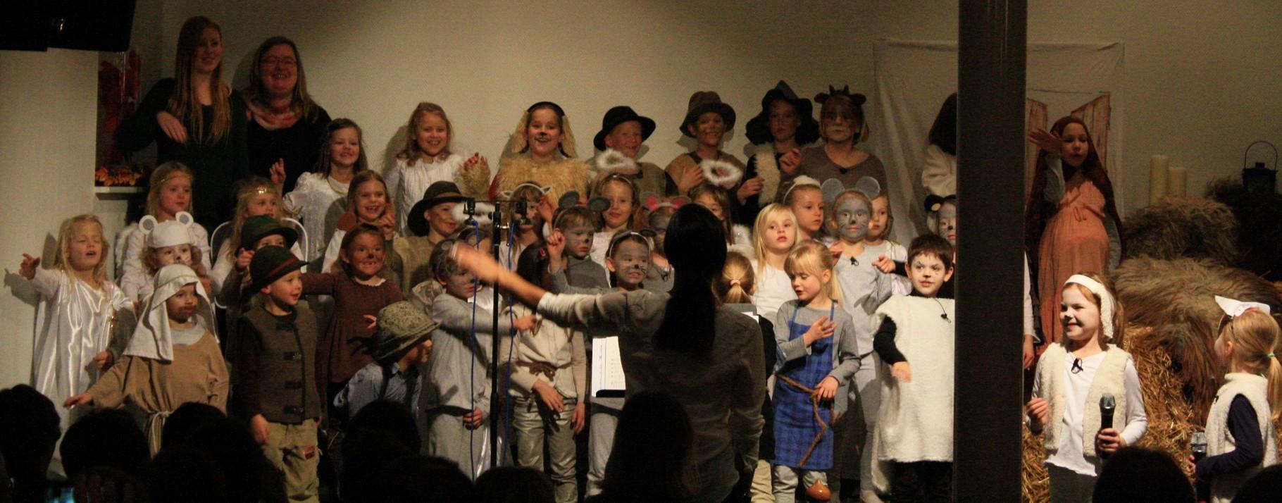 """Kinder - Weihnachtsmusical 2015 """"Joshi - Nazareth-Express-Dienst"""""""