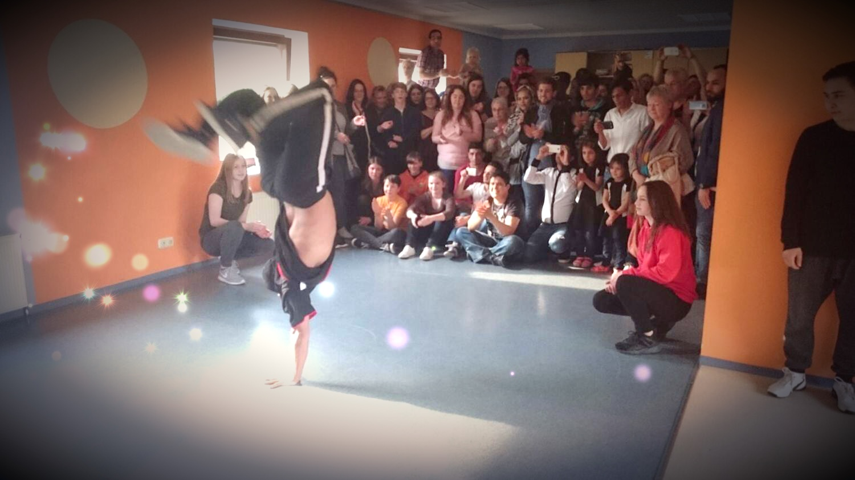 Break-dance-Kurs mit Solist Jahn Lotfi