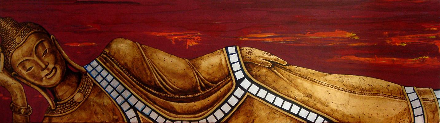 """Bhuda Tumbado """" The Golden Orient"""" by NASEL . VENDIDO """"se pueden pedir a medida y por encargo"""""""