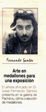 Arte en medallones. prensa Ibiza