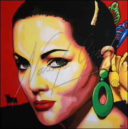 SARA MONTIEL by Nasel