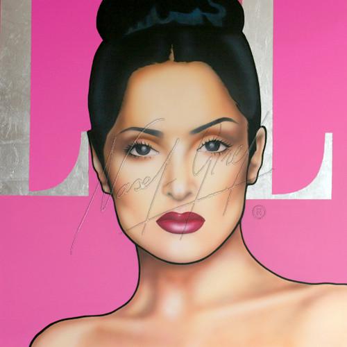 SALMA HAYEK by Nasel