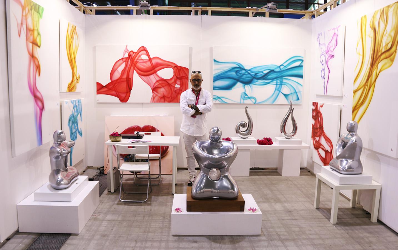 Nasel Stand Art Fair Málaga 17
