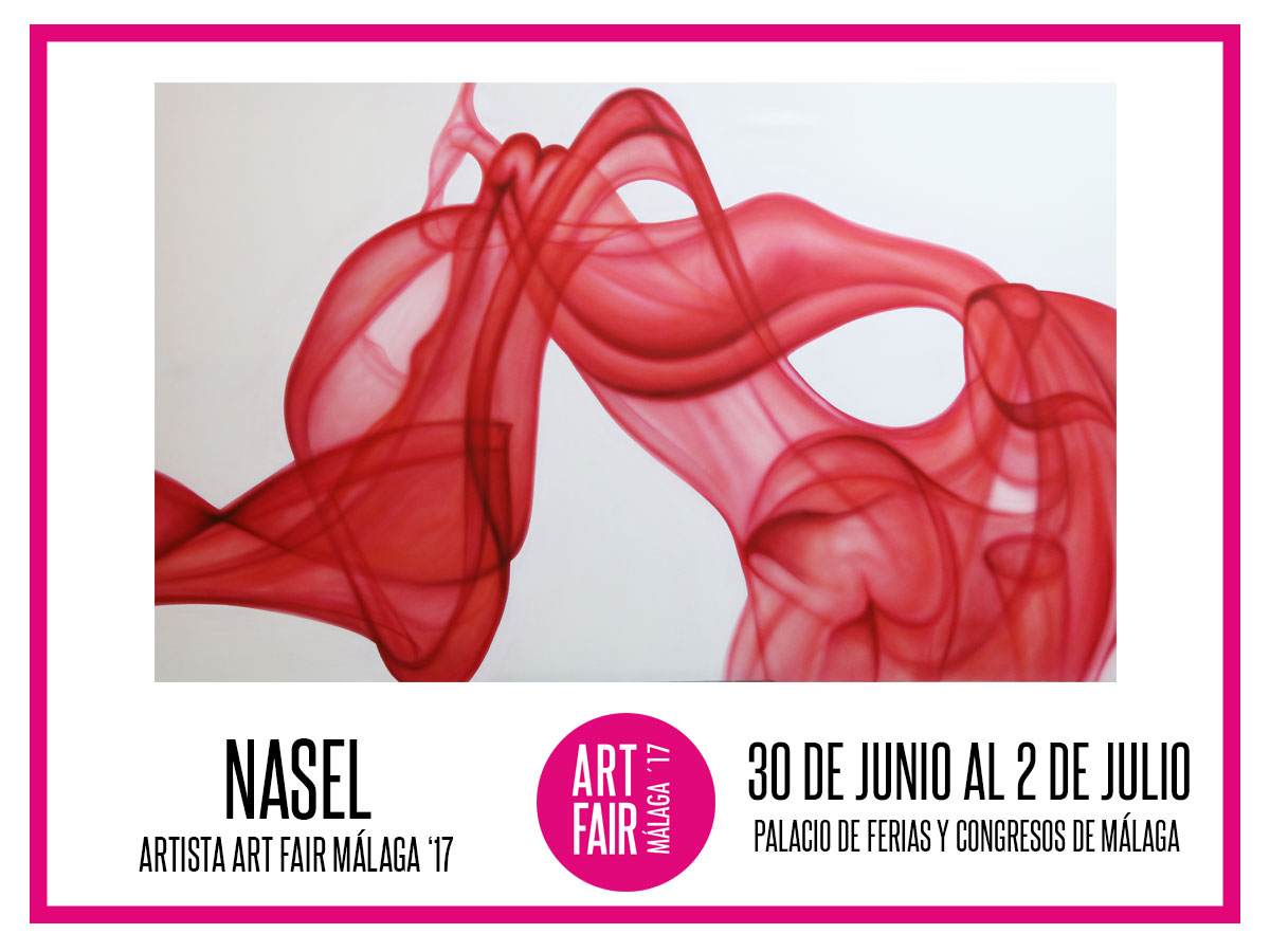 Cartel Nasel Art Fair Málaga 17