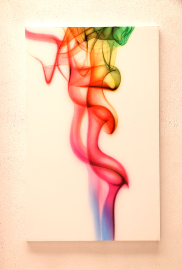 TROPICAL by Nasel -  acrylic on canvas  160x100cm