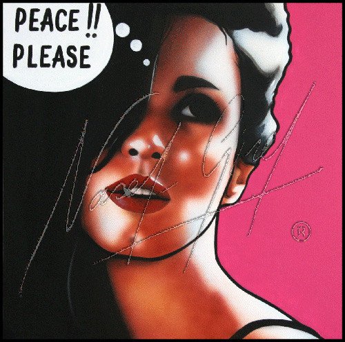 PEACE, PLEASE!! PAZ VEGA by Nasel