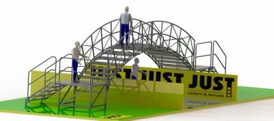Cart Bogenbrücke - Konzept 2