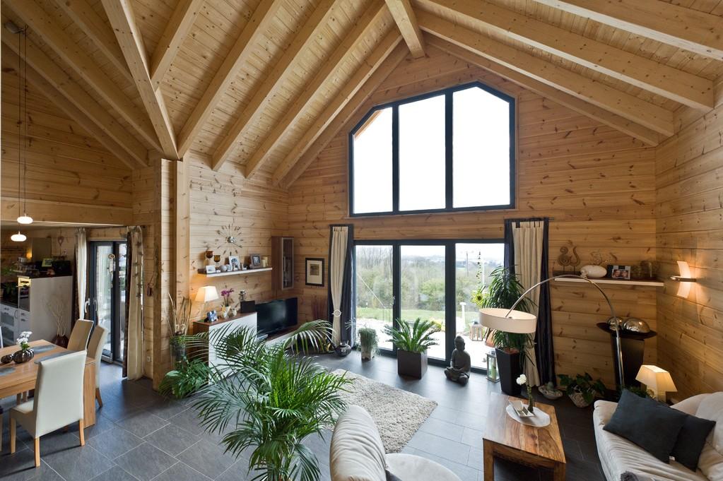 Blockhaus mit wohlf hlgarantie bauidee das exklusive for Holzhaus kleinhaus