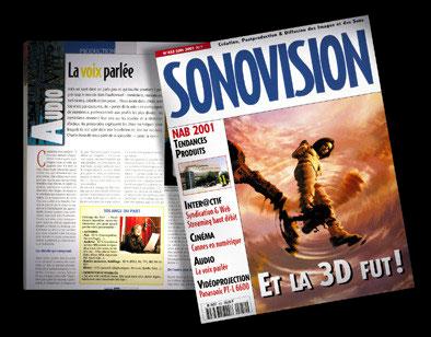 SONOVISION N° 452 - La voix parlée par Benoît Stéfani