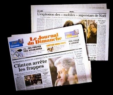 """JDD N° 2712 du 20/12/1998 - L'Explosion des """"mobiles"""" par Stéphanie Belpêche."""