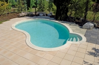Paso Treppe, Schwimmbeckentreppe, Pooltreppe, 2