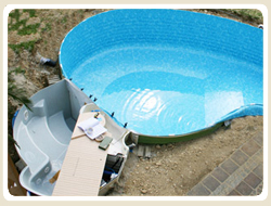 Isolierung, Poolfolie, Schwimmbeckenfolie