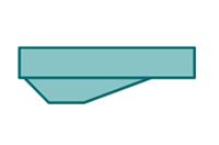 Tauchgraben, tiefer Boden, Bodenprofil, Schwimmbeckenboden, Poolboden, 2