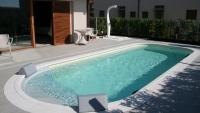 Toskan, Beige, Sand, Schwimmbeckenfolie, Poolfolie, Liner, Beckenfolie, 2
