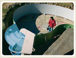 Poolstruktur, Schwimmbeckenstruktur, Pool, Schwimmbecken