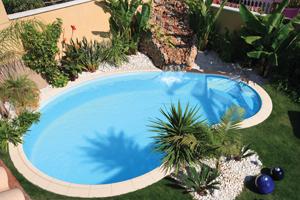 Celine, Schwimmbecken, Pool, Garten Schwimmbecken, Garten Pool, platz