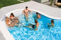 Pacio Treppe, Schwimmbeckentreppe, Pooltreppe, Wellnesstreppe, 2