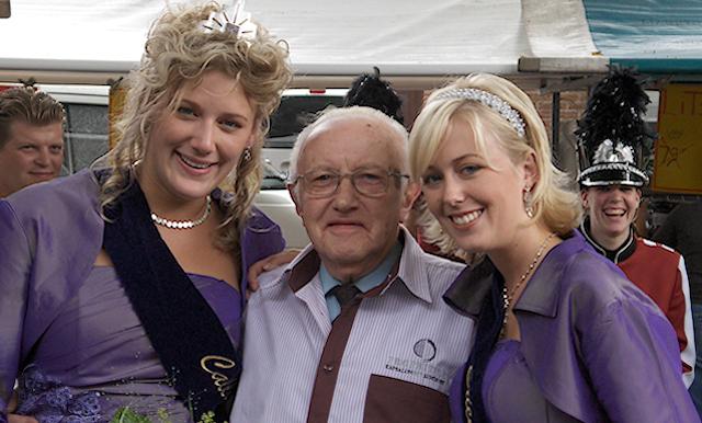 Gerrit in 2006 met de Heide hoogheden.