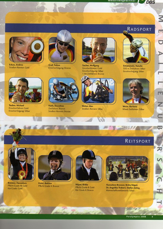 DBS - Paralympics Peking 2008