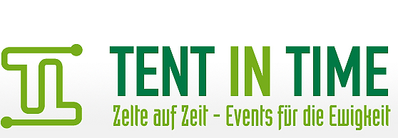 TENT IN TIME Event-Planung und Event-Organisation Namensfindung und Slogan Kreation