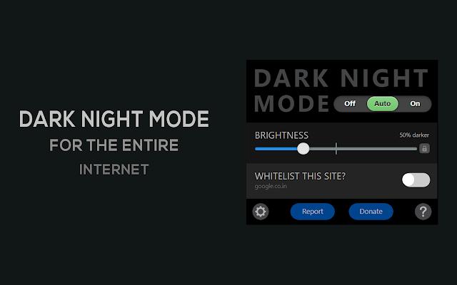 Dark Mode im Chrome-Browser